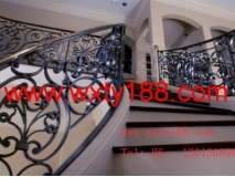 wrought iron rail indoor
