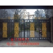 Wrought gate of 9.Renmin Road