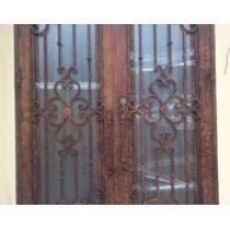 Wrought iron entry of Minghao Hills